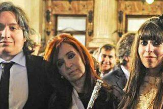 Cristina Kirchner y sus 'cachorros'
