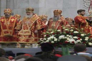 La iglexia ortodoxa toma las calles de Moscú en una demostración de fuerza