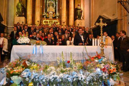 La ofrenda en la basílica pone fin a unas Mondas faltas de chispa y ausencia de renovación