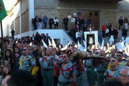 Los nacionalistas se escandalizan por ver la Legión en las procesiones de Semana Santa