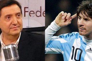 """Jiménez Losantos bromea con el conflicto de YPF entre España y Argentina: """"Lo suyo sería que nosotros echásemos a Messi de la Liga"""""""