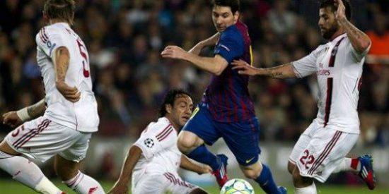 El Barça supera al Milan y llega a su quinta semifinal consecutiva (3-1)