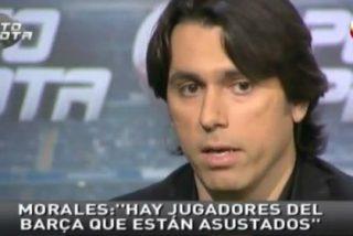 """Roberto Morales carga contra los periodistas catalanes: """"Han llamado a jugadores para meter mierda contra mí. Imagino que les da rabia que alguien de la 'caverna' diera la noticia"""""""