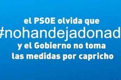 El PP lanza el vídeo #Nohandejadonada en respuesta a #Vanaportodo