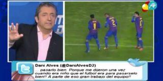 """Josep Pedrerol defiende la celebración de Thiago y Alves: """"Lo que en Brasil es normal, aquí nos ofende mucho, ¿por qué no se puede bailar?"""""""