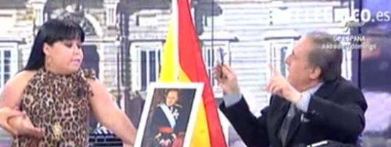 """Chiqui regresa a 'Sálvame' y Peñafiel la humilla y la desprecia: """"O se va o me levanto yo. No me gustan las bufonadas"""""""