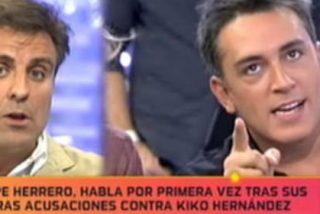 """Kiko Hernández enloquece en directo y carga, a lo bestia, contra Lydia Lozano y Pepe Herrero ('GH7'): """"¡Yo soy frívolo cuando me da la gana. Cállate la boca!"""""""