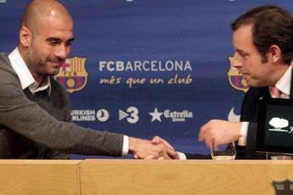 "Eladio Paramés, portavoz de Mourinho: ""¡Pep Guardiola deja el Barcelona! ¡Culpa de 'Mou!'"