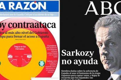 La Razón presenta a Rajoy como un Darth Vader bueno