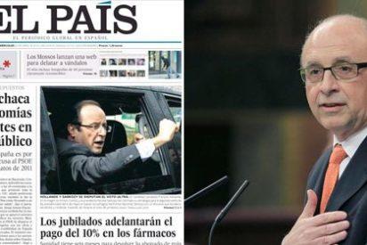 El País trata de sublevar a los españoles contra el Gobierno del PP