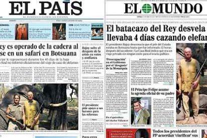 ¿Y a usted qué le parece que el Rey Juan Carlos estuviera por Africa cazando elefantes?