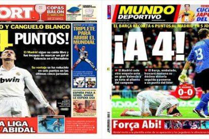 Sport y Mundo Deportivo se frotan las manos y ya ven la Liga azulgrana por la