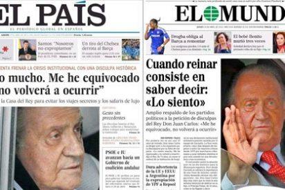 El Mundo y El País dan la orden de que cesen los ataques a la monarquía