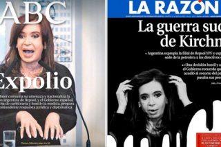 La viuda negra de Kirchner muestra sus garras afiladas en la prensa española
