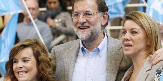 Rajoy se toma un respiro con RTVE hasta que acabe el ruido de sables entre Cospedal y Soraya