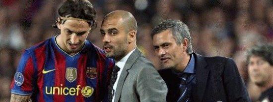 """Guardiola: """"Parece que Ibrahimovic quiere hacerse amigo de Mourinho"""""""
