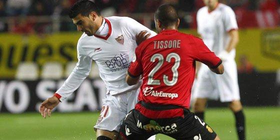 El Sevilla vence al Mallorca y suma tres victorias consecutivas