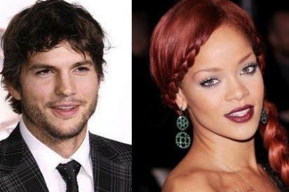 Rihanna encontró fotos de Demi Moore desnuda en el móvil de Ashton Kutcher