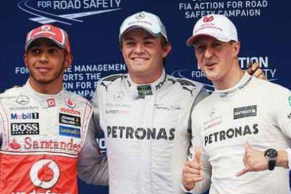 Rosberg hace historia para Mercedes y Alonso acaba noveno