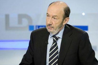 Rubalcaba ataca a Rajoy diciendo lo que callaba como un zorro cuando era vicepresidente
