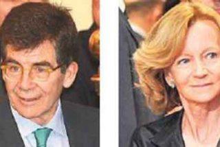 Elena Salgado y José Enrique Serrano, amigos inseparables