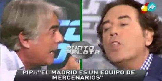 """Siro López machaca a Pipi Estrada: """"Has llamado mercenarios a los jugadores del Madrid, y luego no tienes cojones de mantenerlo delante de tus amigos Albiol y Casillas"""""""