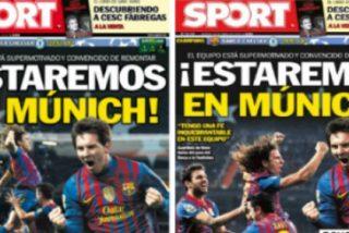 Las burlas en la red obligan a 'Sport' a cambiar su portada