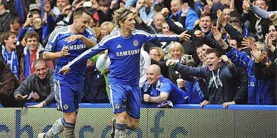 El 'Niño' Torres recupera el instinto y hace un 'hat trick' con el Chelsea