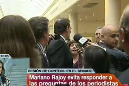 Rajoy planta a los periodistas ante los rumores de intervención de la UE