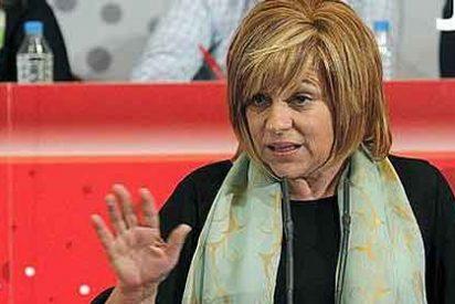Elena Valenciano, vicesecretaria del PSOE y de profesión 'agitadora'