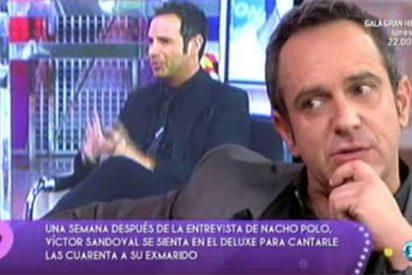 """Jorge Javier Vázquez le da dónde más le duele a Victor Sandoval: """"Eres un pesetero. Estás encantado con tu drama"""""""
