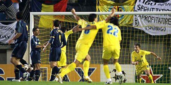 Se cumplen seis años de la histórica clasificación del Villarreal para las 'semis' de la Champions