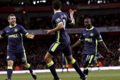 El Wigan de Roberto Martínez se impone al Arsenal por 1-2