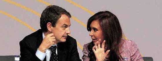 Zapatero regaló a Kirchner más de 125 millones en su última legislatura