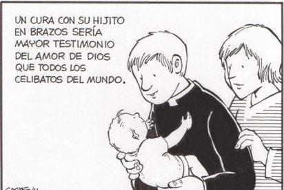 Cipriani y el padre Martín Sánchez