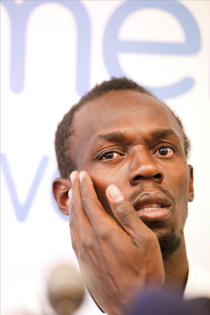 El jamaicano Usain Bolt vuela a 82 días del inicio de los Juegos Olímpicos