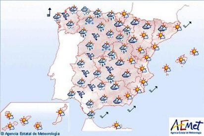 Lluvias en Galicia, Castilla y León, Extremadura y Andalucía