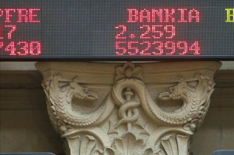 Bankia se desploma en bolsa por segundo día consecutivo, al caer el 4,76 por ciento