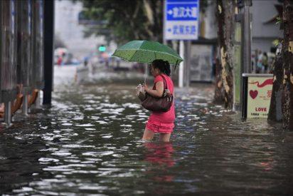 Diecinueve muertos y 45 heridos en el noroeste de China por las lluvias torrenciales
