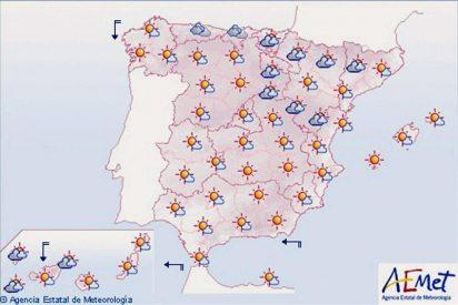 La Aemet prevé para hoy temperaturas altas en Canarias