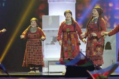Las abuelas rusas emplearán el dinero de Eurovisión en reconstruir una iglesia