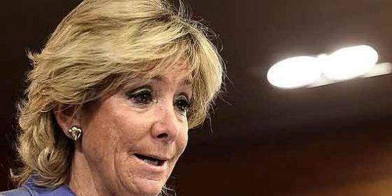"""Esperanza Aguirre, Copa del Rey, himno y pitidos: """"Dije lo que pienso"""""""