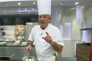 """Karlos Arguiñano, un indignado en la cocina: """"Es difícil sacar un país adelante con tanto golfo"""""""