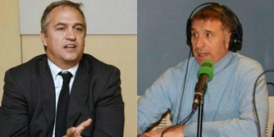 El personal de comunicación del Athletic Club irrumpe en la entrevista de Fernando Burgos a Xabi Alonso y echa al periodista de la zona mixta