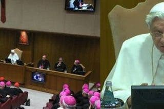 """Papa: La exclusión de Dios de la sociedad es """"el corazón de la crisis que hiere a Europa"""""""