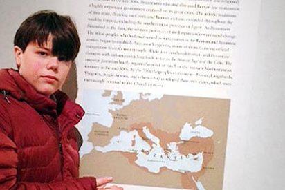 Un alumno de Primaria de EEUU logra poner a España en el mapa