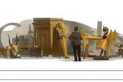 Howard Carter encuentra la tumba de Tutankamon pero en Google