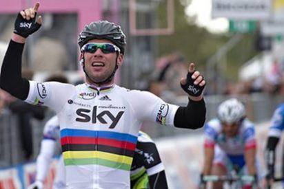 El británico Cavendish se adjudica la segunda etapa del Giro de Italia