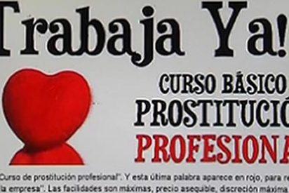 Ofrecían cursos de prostitución profesional con empleo seguro al final