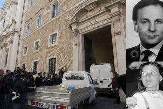 Abierta la tumba del mafioso relacionado con el secuestro de Emanuela Orlandi